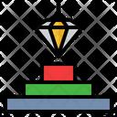Diamond Privilege Precious Icon