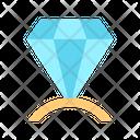 Diamond Diamond Ring Ring Icon