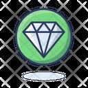 Diamond Gemstone Gem Icon