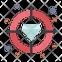 Diamond Focus Target Icon