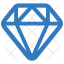Jewel Diamond Gemstone Icon