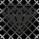 Brilliant Casino Diamond Icon