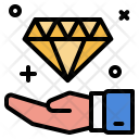 Business Collect Diamond Icon