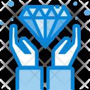 Diamond Cash Payment Icon