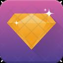 Diamond Jewellery Gem Icon