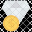 Diamond Finance Dollar Icon