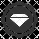Diamond Label Sticker Icon
