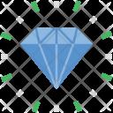 Diamond Gemstone Precious Icon