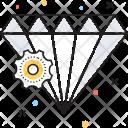 Brilliant Diamond Gem Icon