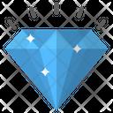 Diamond Gemstone Precious Stone Icon