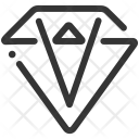 Diamond Brilliant Gem Icon