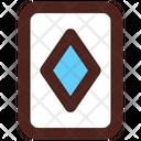 Diamond Card Poker Card Casino Card Icon