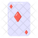 Casino Card Poker Playing Card Icon