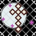 Diamond Cross Icon