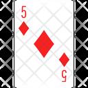 Diamond Five Icon