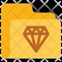 Diamond Folder Data Icon