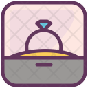 Diamond Gem Ring Icon