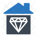 Diamond House Icon