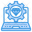 Marketing Diamond Icon