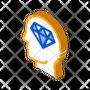 Diamond Element Arrow Icon