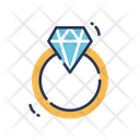 Diamond Ring Ring Engagement Icon