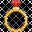 Diamond Ring Ring Wedding Ring Icon