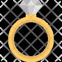 Diamond Ring Finger Icon