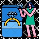 Diamond Ring Diamond Ring Icon