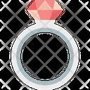 Diamond Ring Gem Ring Jewel Ring Icon