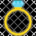 Diamond Ring Wedding Ring Engagement Ring Icon