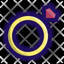 Rings Diamond Jewellery Icon