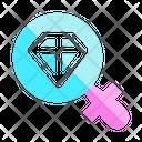 Diamond Jewelry Find Icon
