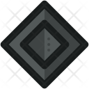 Diamond Shaped F Icon