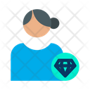 Diamond User Icon
