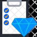 Diamond Verification Icon