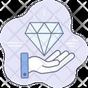 Banking Wealth Diamond Icon
