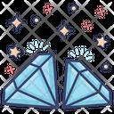 Diamonds Jewel Precious Stone Icon