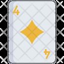 Diamonds Card Diamond Card Icon