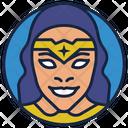 Diana Wonder Woman Avenger Vision Icon