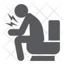 Diarrhea Disease Covid Icon