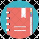 Diary Bookmark Journal Icon