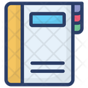 Notepad Diary Notebook Icon