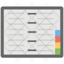 Notebook Notepad Stationery Icon