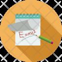 Diary Pencil Energy Icon