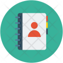 Contacts Diary Telephone Icon