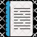 Textbook Diary Icon