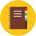 Diary Notepad Notebook Icon