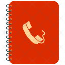 Diary Contacts Telephone Icon