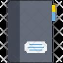 Diary Notebook Log Pad Icon
