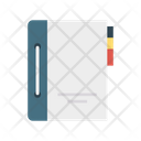 Diary Notebook Library Icon